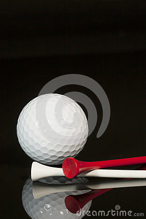 Golf Ball and Tees 2