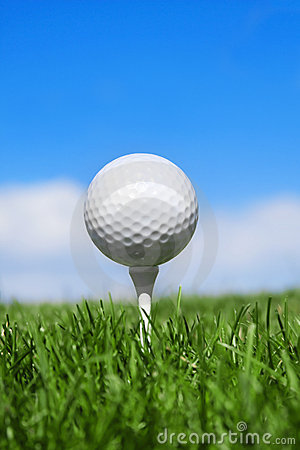 Free Golf Ball Vertical Stock Photography - 14272982