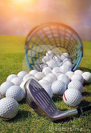Free Golf Balls Stock Photos - 57770293