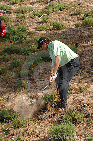 Golf - Brian DAVIS, INGLÉS Foto de archivo editorial
