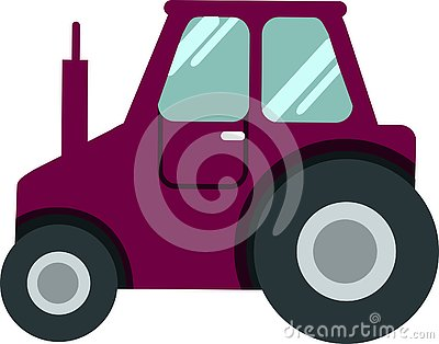 Golf Car CLUB CAR on a white background Vector Stock Photo