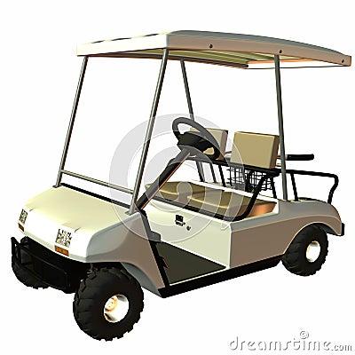 Free Golf Cart Royalty Free Stock Image - 1401376