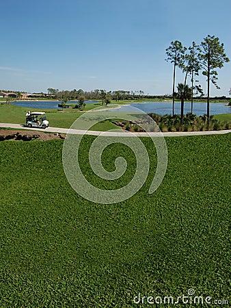 Free Golf Cart Stock Image - 832341