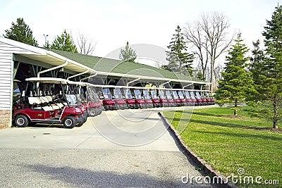 Golf Cart Lineup