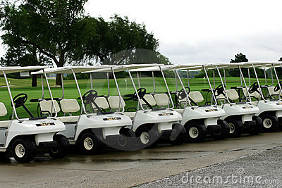 Golf Cart Parking
