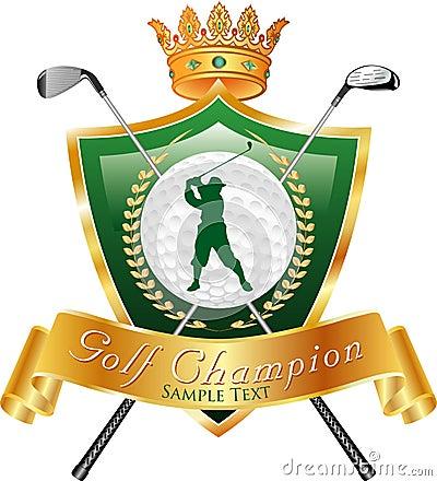 Golf champ