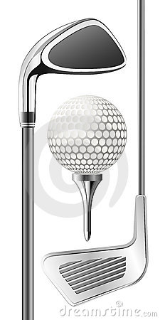 Free Golf Club And Ball Stock Photo - 7177460