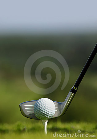 Free Golf Club And Ball In Grass Royalty Free Stock Photo - 10639055