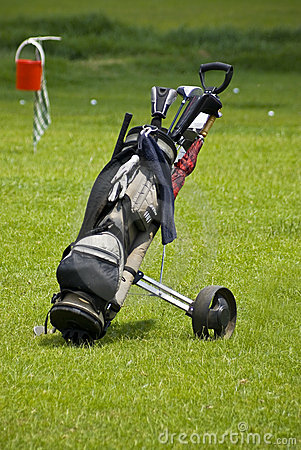 Golf Club Bag & Mobile Buggy