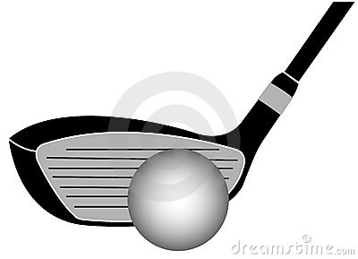Golf Club Iron Vector Illustration