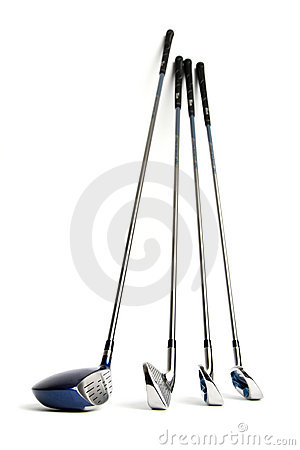 Free Golf Clubs Royalty Free Stock Photo - 2518025
