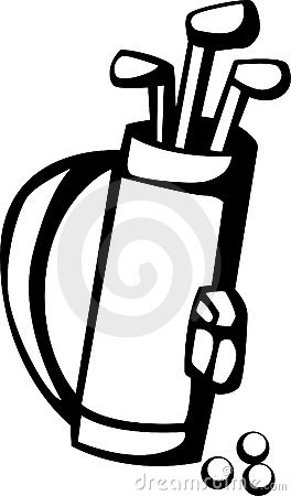 Stock Photo Golf Clubs Bag Vector Illustration Image1622080 likewise Golf Lessons moreover 360619431873 in addition Golf Bag Clipart Black And White 4661 additionally 2. on golf club bag