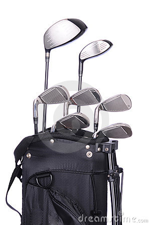 Free Golf Clubs In Bag Royalty Free Stock Photos - 15751468