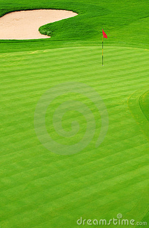 Golf Course Royalty Free Stock Photos - Image: 10152258