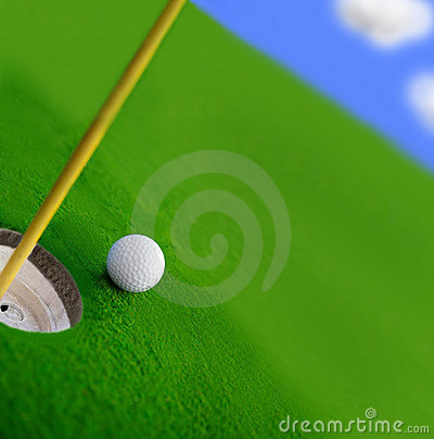 Free Golf Course Stock Image - 2697841