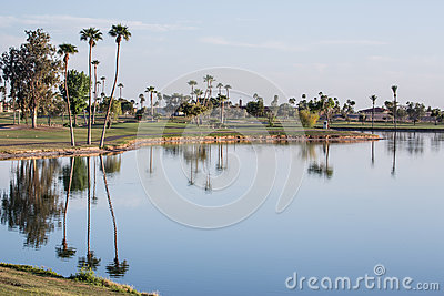Golf Course Royalty Free Stock Photos - Image: 27151738