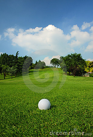 Free Golf Course Stock Image - 5745701