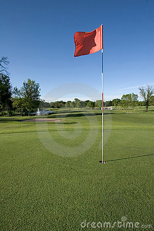 Free Golf Course Royalty Free Stock Image - 797366