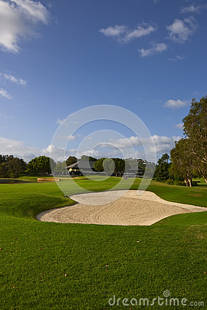 Free Golf Course Bunker Royalty Free Stock Photos - 31955648