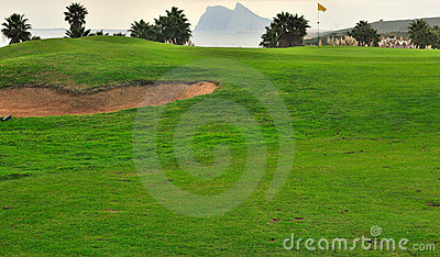Golf course in Cadiz