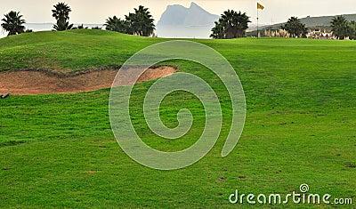 Golf course in Cadiz