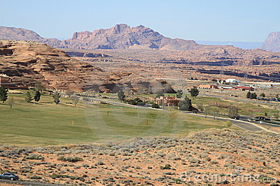 USA, Arizona/Page: Golf Course