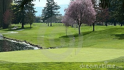 Golf Course Golfing Green BC