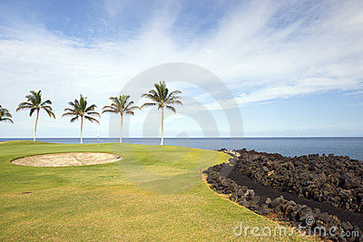 Golf Course in Hawaii