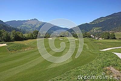 Golf Course Schluein - Sagogn, Switzerland