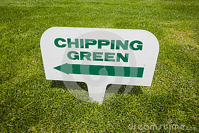 Golf Course Signs