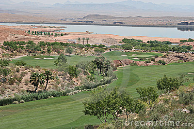 Golf course in Vegas