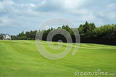 Golf Course and Villa