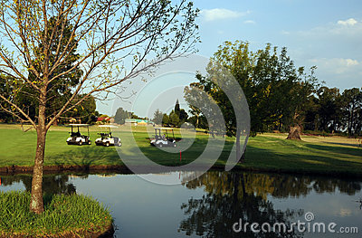 Golf Course Water Hazard