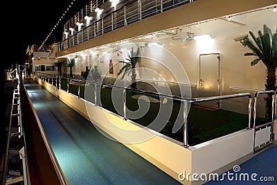 Golf court on cruise ship Costa Deliziosa Editorial Stock Image