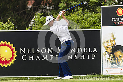 Golf Drive Top Swing Pro Editorial Image