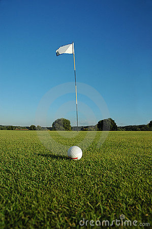 Free Golf-field Royalty Free Stock Photos - 272958