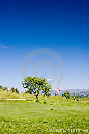 Free Golf Field Royalty Free Stock Photography - 783827