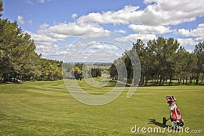 Golf field in Portugal
