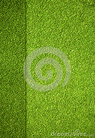 Golf field top view background