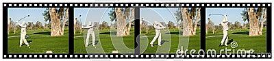 Golf Filmstrip