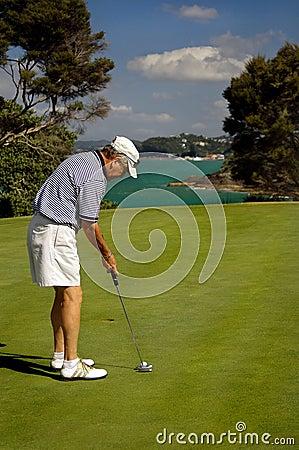 Golf - The Finish