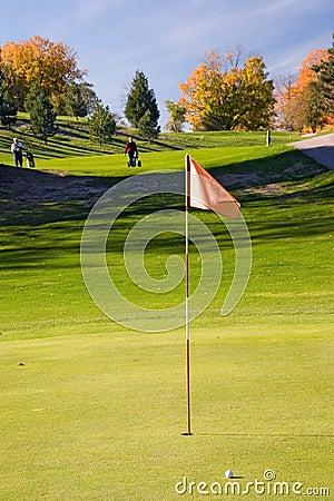 Free Golf Flag 04 Royalty Free Stock Photos - 316628