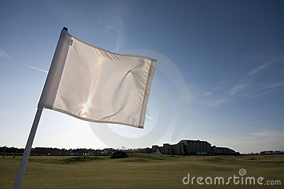 Golf Flag, 1st hole, St Andrews Old Course