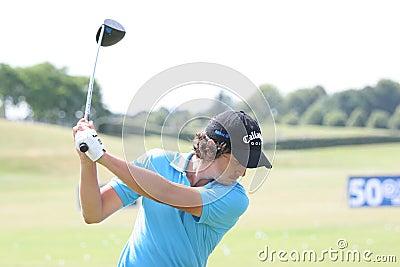 Golf-Franzosen Mike-Lorenzo-Vera (FRA) öffnen 2009 Redaktionelles Stockfoto