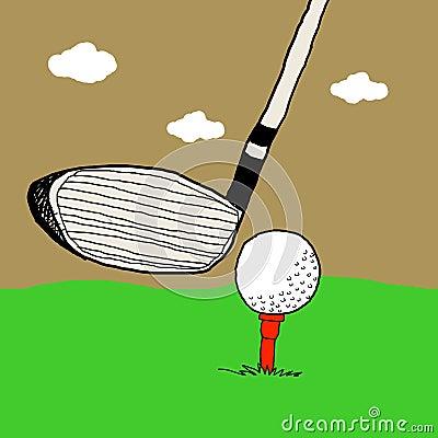 Golf game, Golf illustrations