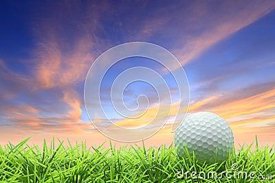 Golf on grass