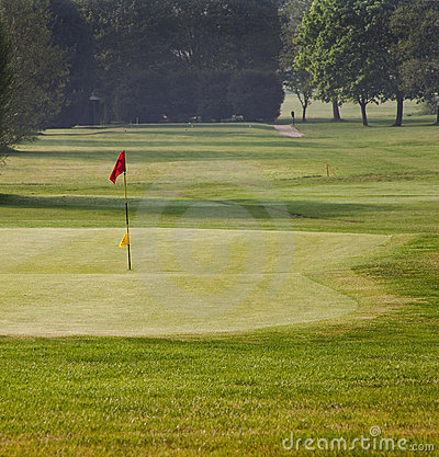 Free Golf Green And Tee Stock Photo - 19326080
