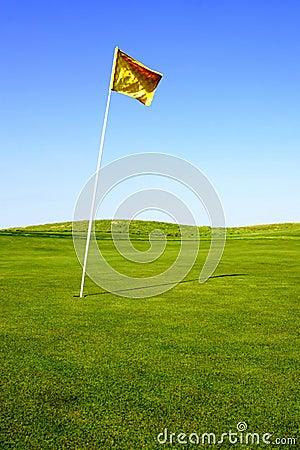 Golf Green Flag