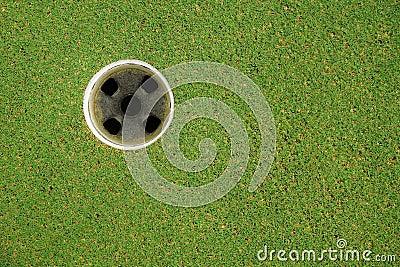 Golf hold