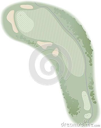 Free Golf Hole Royalty Free Stock Photos - 1715268